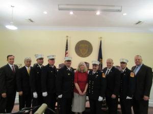 New Fire Chiefs Sworn In