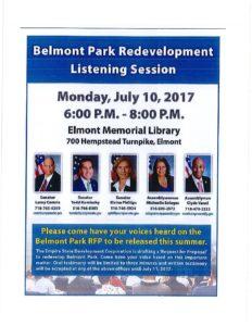 Belmont Park Redevelopment Listening Session