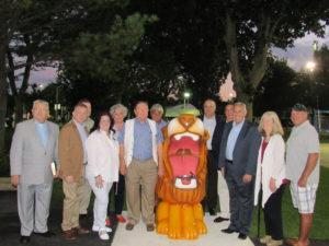 Floral Park Lions Club Fountain Unveiling