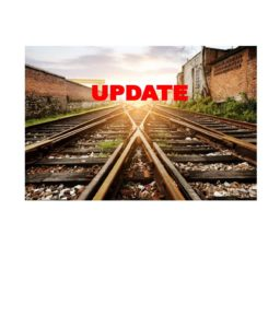 CONSTRUCTION UPDATES REGARDING THIRD TRACK PROJECT-UPDATED Sept. 13, 2018