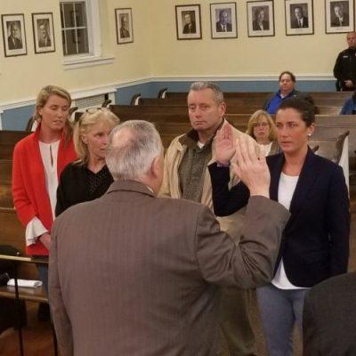 New Police Officer Kelly Murphy Sworn In