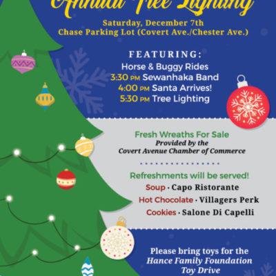 Covert Avenue Chamber of Commerce Annual Christmas Tree Lighting