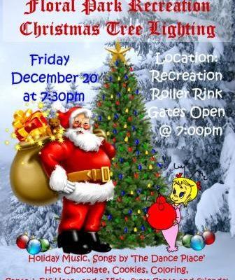 Recreation Center Tree Lighting